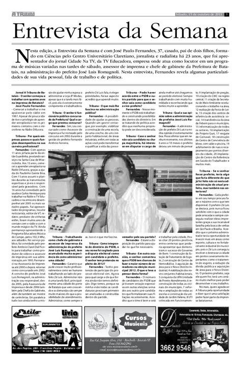 Jornal A Tribuna de Batatais by Carlos Borghi - Issuu