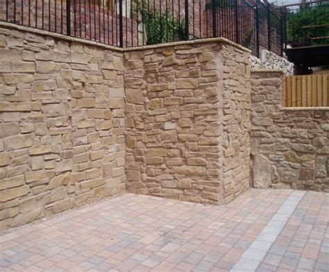 Retaining Wall Products by Rocwall Reinforced Concrete Retaining Wall