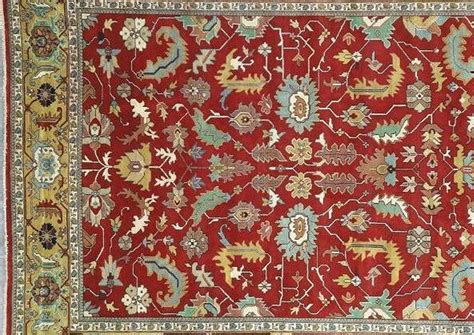 12 By 16 Area Rugs Sale 12x16 Gold Area Rug Serapi Carpet Wool Handmade Rugs Ebay