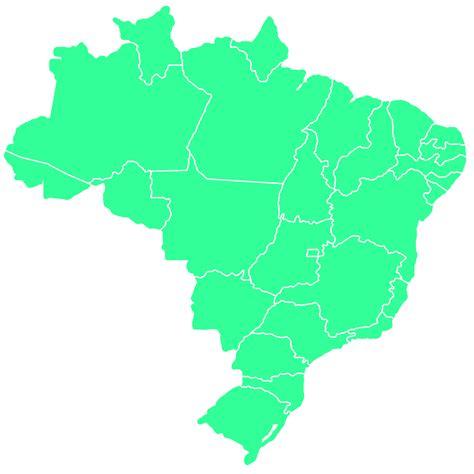 map brazil states brazil map map of brazil mapbrazil my country