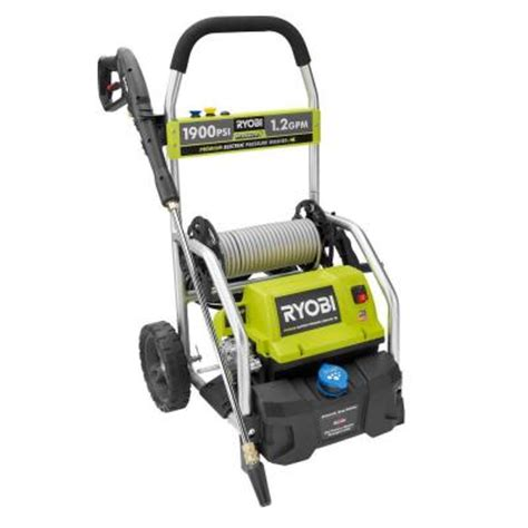 Home Depot Pressure Washer by Ryobi 2000 Psi 1 2 Gpm Electric Pressure Washer Ry141900