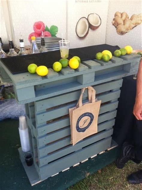 Wood Kitchen Island Cart Reciclar Pallets Tarimas Hacer Barra Decoracion De