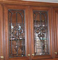 leaded glass kitchen cabinets stained glass cabinet scottish stained glass