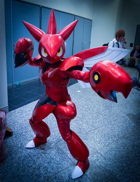 cosplay house otaku house cosplay idol 187 bjay scizor from pokemon