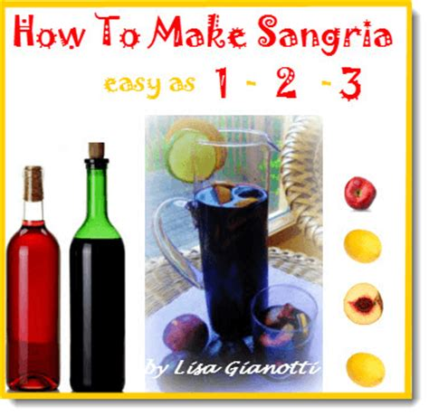how to make sangria tips and techniques