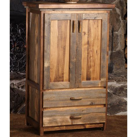 armoire rustic rustic wyoming armoire