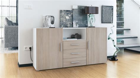 high cabinet with drawers sideboard cabinet chest of drawers skadu white high