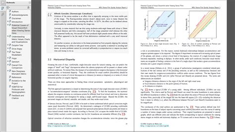 results section of a lab report msu 3d video quality analysis report 2
