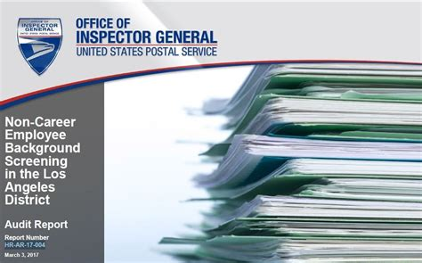 Usps Background Check How Usps Non Career Employee Background Screening In The La District 21st Century