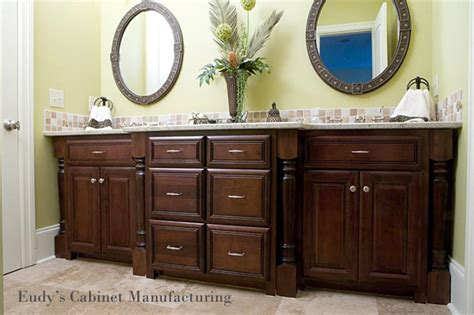 built in bathroom linen cabinets eudy s cabinet manufacturing master vanity with charlotte custom cabinets eudy s cabinets
