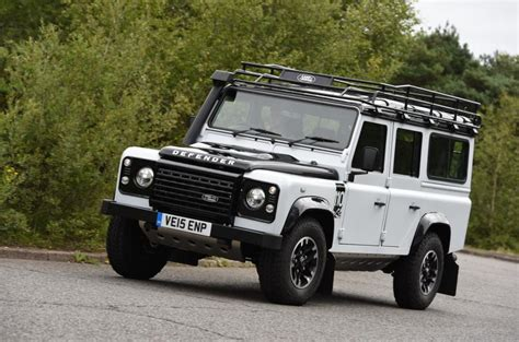 land rover defender white 2015 land rover defender 110 adventure uk review review