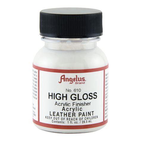angelus paint gloss buy angelus acrylic 610 finisher h gloss 1 oz
