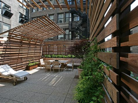 rooftop patios tank rooftop exterior views modern patio new york