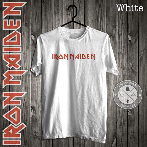 Kaos Pria Iron Maiden 1 Obl Arb jual kaos band logo quot iron maiden quot yoyaku shop