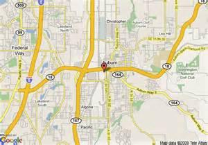 Auburn Washington Map by Map Of Best Western Peppertree Auburn Auburn
