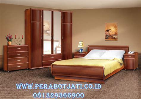 Tempat Tidur Set Kayu Jati set kamar tidur kayu jati desain tempat tidur minimalis jepang perabot jati perabot jati