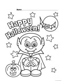 halloween vampire printable coloring pages