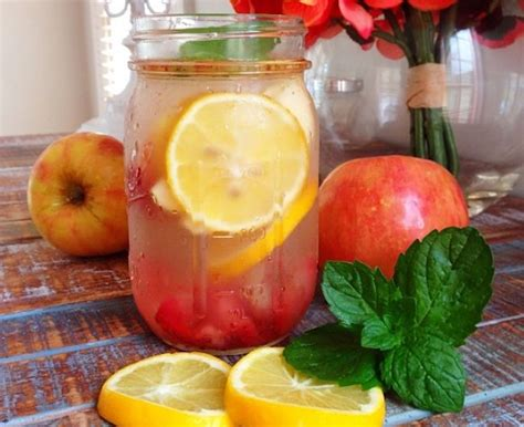Cinnamon Strawberry Detox Water by 9 Summer Detox Water Recipes You Ll Beautiful