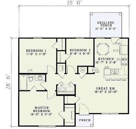 plans economical floor plans economical starter home plan 59385nd architectural