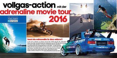 Motorradreifen Landshut by Falken Ist Hauptsponsor Der Adrenaline Tour