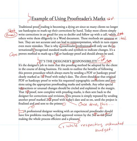 Editing Essays by Learning The Basics Of Proofreading Designers Insights