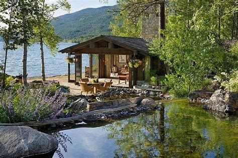 cabin by the lake favorite places and spaces