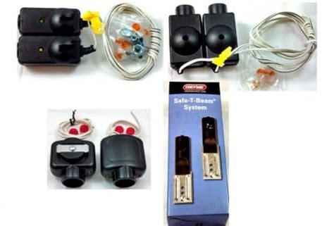 how to adjust garage door sensors how to adjust infrared safety beam sensors