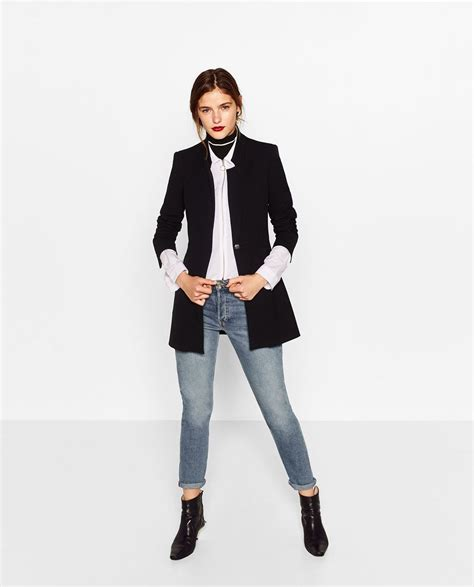 Zara Crepe Ver 2 levita crepe 218 ltima semana mujer zara espa 241 a moda
