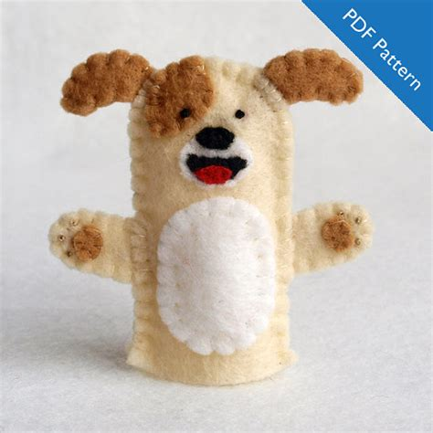 dog dog puppet pattern dog finger puppet pattern pattern