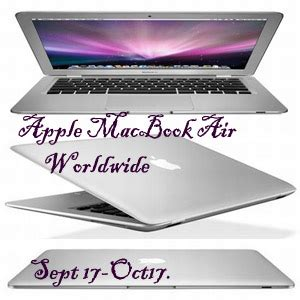 Macbook Air Giveaway - bloggers apple macbook air giveaway free event sign ups open mom always finds out