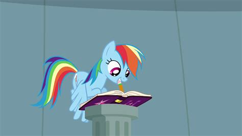 Rainbow Essay In by Rainbow Dash Writing In Journal S4e04 My Pony Friendship Is