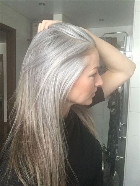 transition to grey hair styles for long hair best 25 grey hair styles ideas on pinterest gray hair