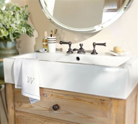 bathroom sink consoles wood mason reclaimed wood single sink console wax pine finish
