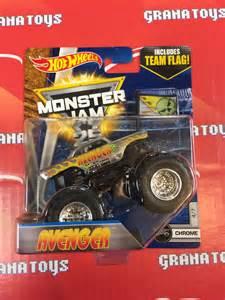 Jam Trucks Wheels Toys Avenger 4 7 Chrome 2017 Wheels Jam E Ebay