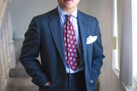 ties for short men proper correct tie length explained gentleman s gazette