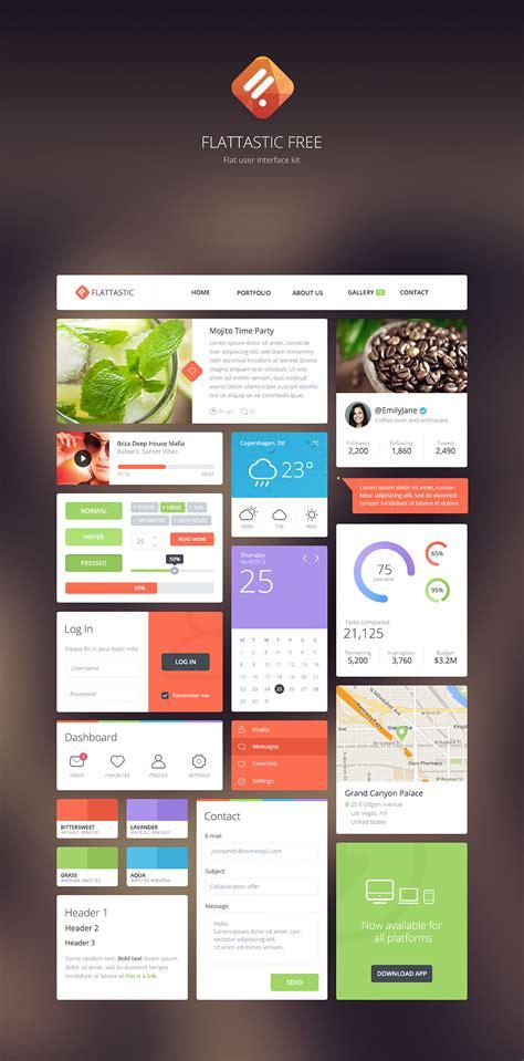 download pattern ui free download flattastic ui kit webdesigner depot