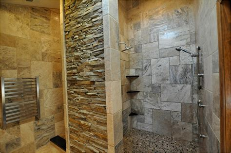 stone bathroom showers old world bathroom design ideas room design ideas