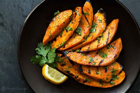 a cooks pretty simple cooking 100 delicious vegetarian recipes to make you fall in with real food books grilled sweet potatoes recipe simplyrecipes
