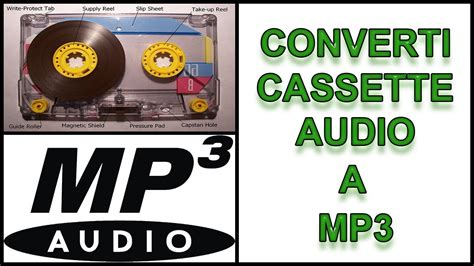 da cassette a mp3 converti audio da cassetta a mp3 gratis e facile tutorial