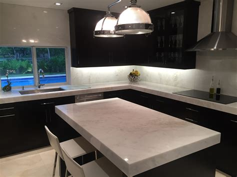 Kitchen Countertops Miami by Mystery White Marble Slab Kitchen Countertop South Miami Kitchen Marmol Our Residential