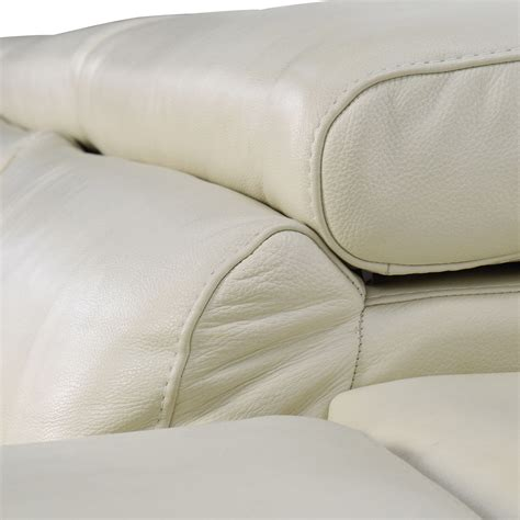 cream leather l shaped sofa 69 off l shaped cream leather sectional sofa sofas