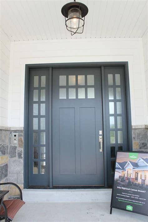 exterior door paint color midnight blue  benjamin moore