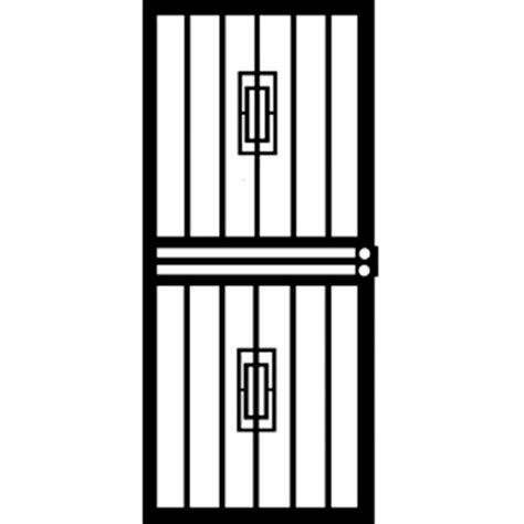 grisham 32 in x 80 in 453 series black mars security