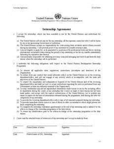 Internship Agreement Letter Format Internship Agreement Hashdoc