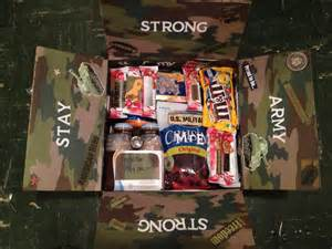 care package ideas pretty in the army