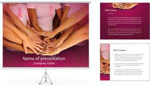 free breast cancer powerpoint presentation templates breast cancer movement powerpoint template backgrounds