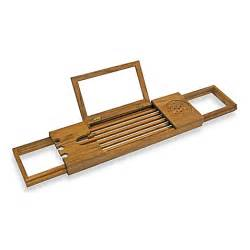 buy teak bathtub tray caddy from bed bath beyond