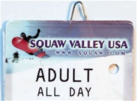 Lift Ticket Giveaway - squaw alpine meadows lift ticket giveaway on sundays until dec 30 snowpals