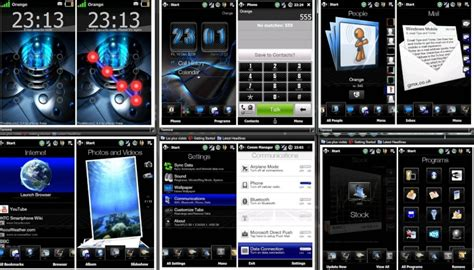 themes htc touch th 232 me pour htc touch hd