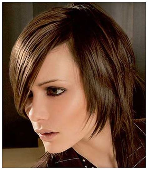 long layers short front longer back hair 16 lovely short cuts for oval faces short hairstyles